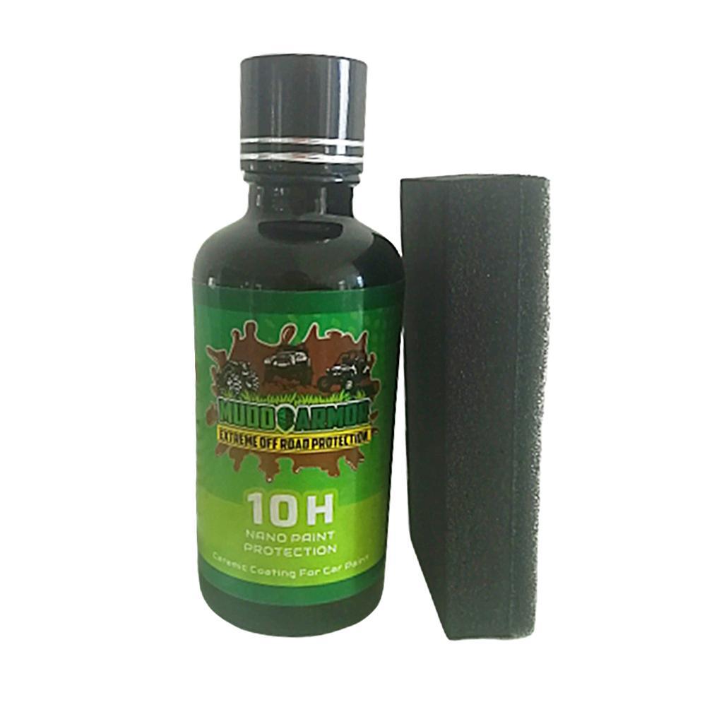 Anti-rayado 30ml abrigo súper hidrofóbico 10H revestimiento de cerámica para coche vidrio líquido impermeable Nano pintura de cerámica para coche cuidado