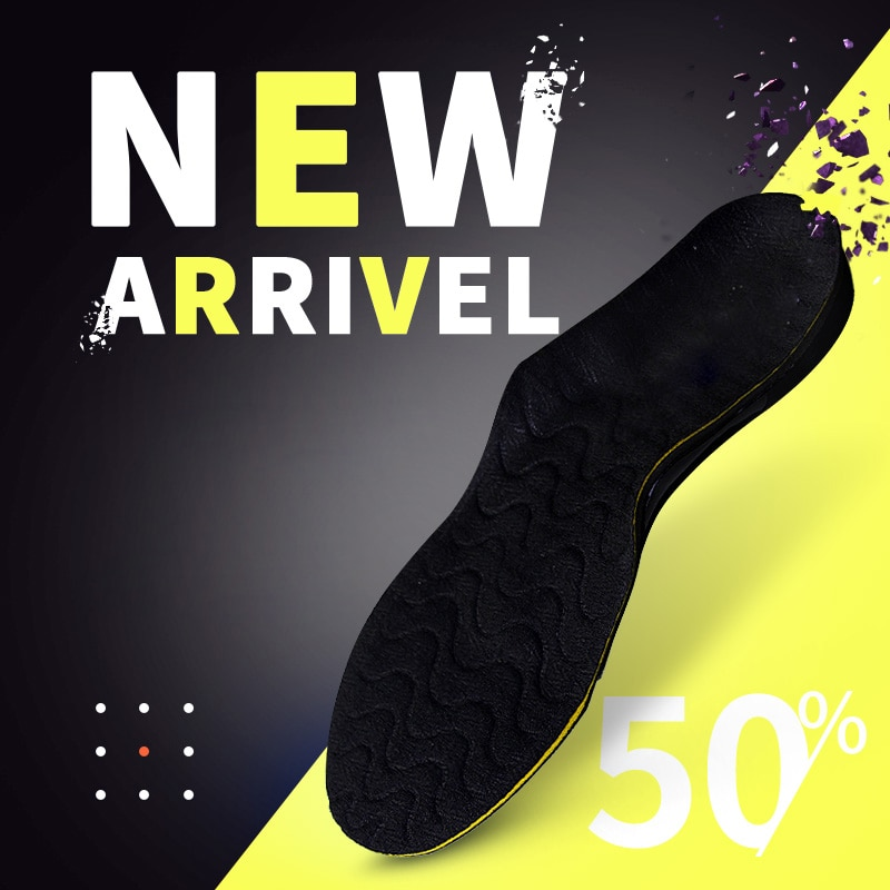 BANGNI Sports Insoles Running Shoes Pad Arch Support Elastic Cushion Soft Inserts Soles Relieve Foot Pain Comfort for Men Women