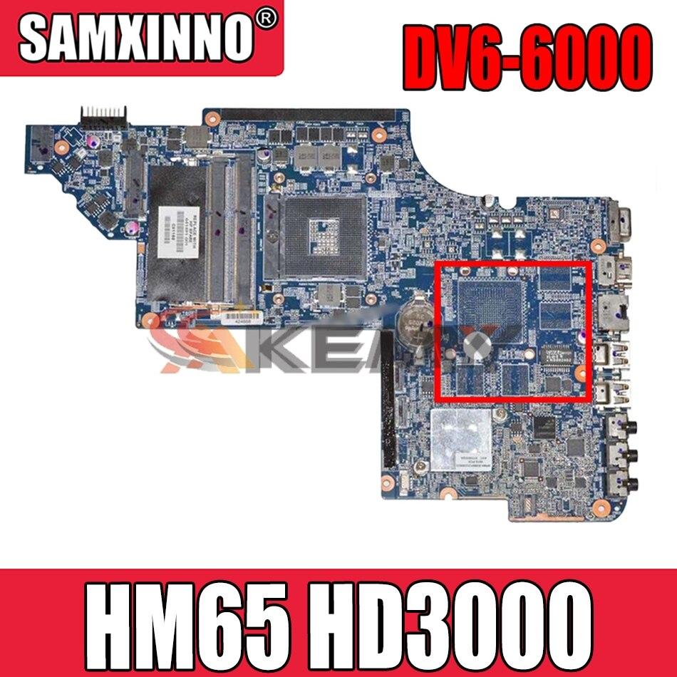 Akemy ل HP بافيليون DV7 DV7-6000 اللوحة المحمول 665993-001 hm65 GMA HD3000 DDR3 اللوحة الرئيسية
