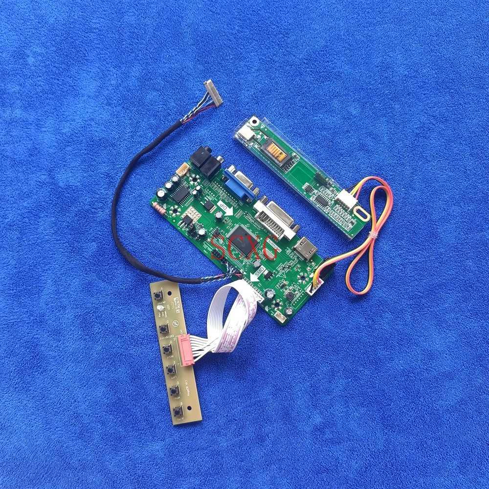 1CCFL شاشة LCD تناسب LTD133ECKF/LTD133ECLS/LTD133ECYF MNT68676 لوحة تحكم DVI VGA HDMI-متوافق 20 دبوس LVDS عدة 1024*768