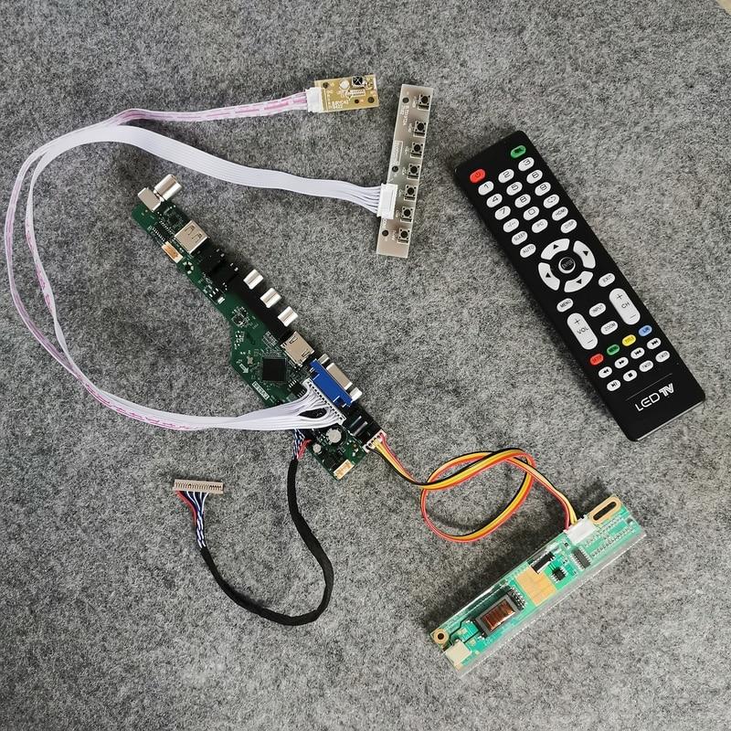 مجموعة لوحة التحكم لشاشة LP141X3/LP141X5/LP141X6/LP141X7/LP141X8 matrix 1024*768, 1-CCFL LVDS 20Pin VGA USB AV LCD مجموعة لوحة التحكم لشاشة LP141X3/LP141X5/LP141X6/LP141X7/LP141X8 matrix