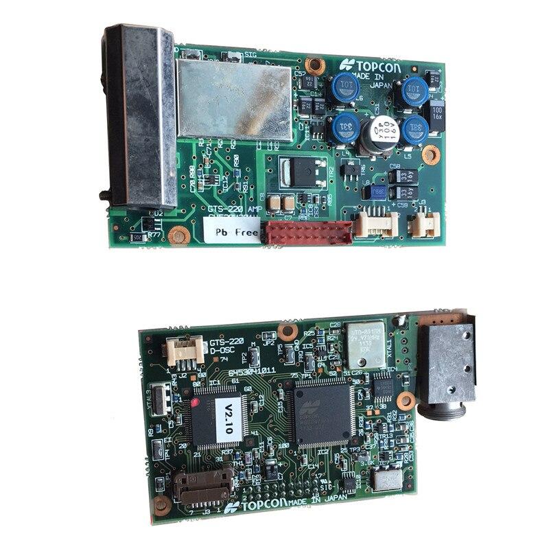 EDM-planche de contrôle pour TOPCON Station totale   GTS102