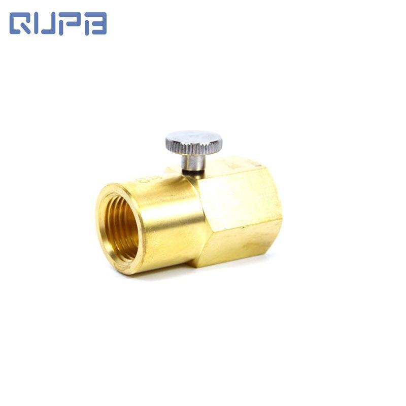 Válvulas de repuesto de cilindro SodaStream G1/2 a W21.8-14 TR21-4 a W21.8 a conector CGA320