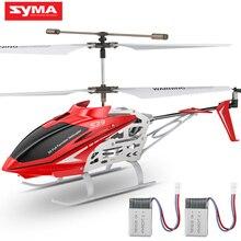 SYMA Official S39 3CH helikopter rc z funkcją zawieszenia wysokości aluminium 2 baterie Anti-Shock pilot zabawka prezent