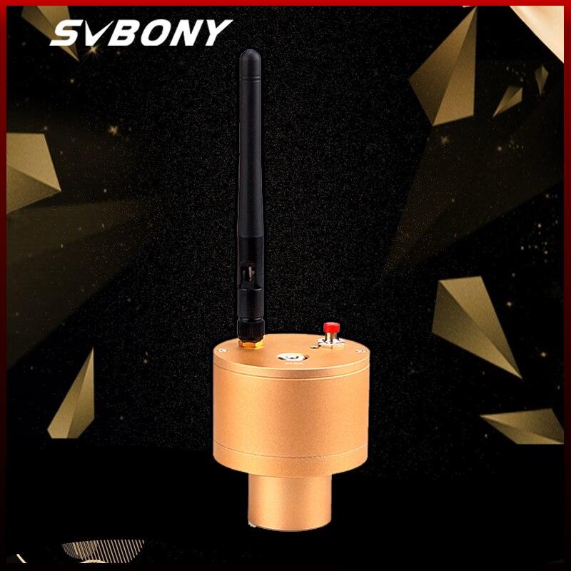"SVBONY 1,25 ""Умная веб-камера 2.0MP wifi электронный окуляр CMOS Smart USB цифровой астрономический Монокуляр Телескоп Камера окулярный объектив"