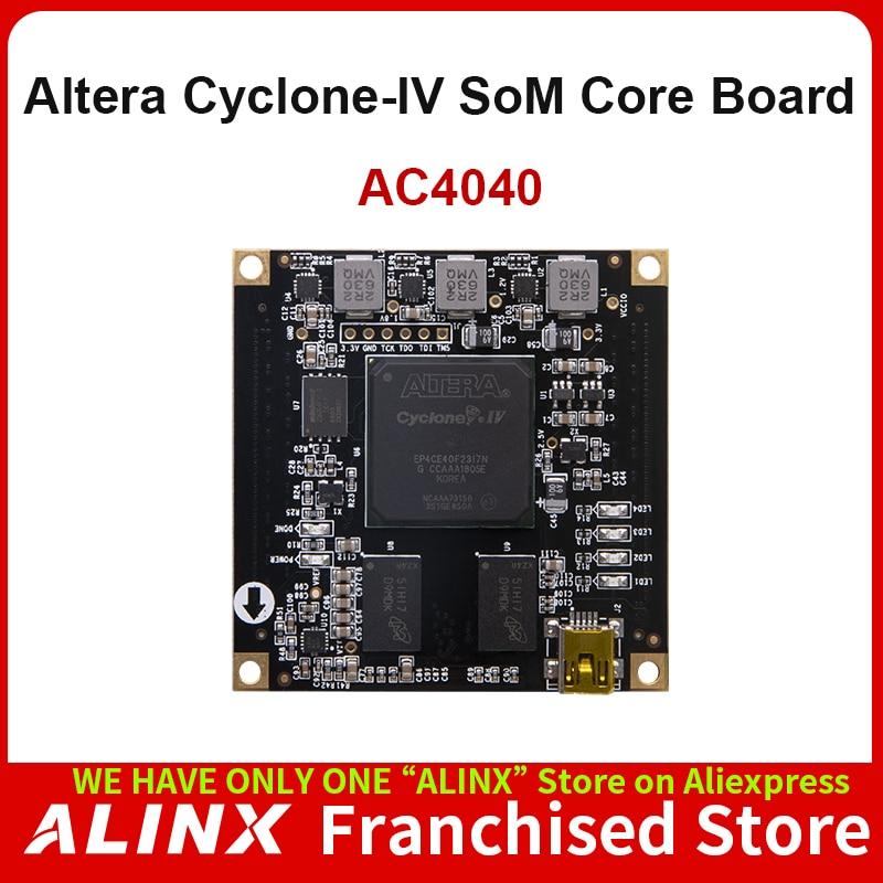 ALINX SoM AC4040: ALTERA CYCLONE IV EP4CE40 FPGA System on Board