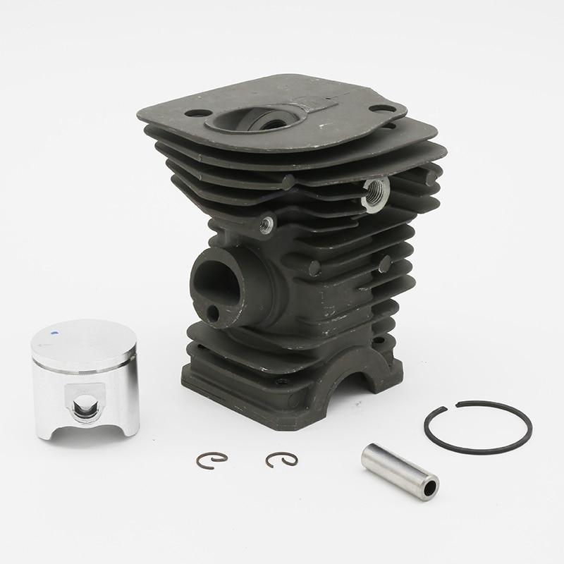 40mm & 42mm Cylinder Piston Fit For Husqvarna 340 340E 340EPA 345 345E 345 EPA Chainsaw Engine Motor Parts PN 503870005