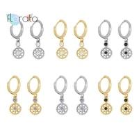 100 925 silver ear buckle charm huggies hoop earrings vintage irregular design star earrings for women party jewelry gift