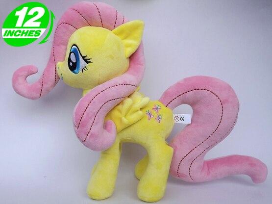 """Unicornio peludo caballo de peluche figuras de juguete de acción 12 """"30 CM"""