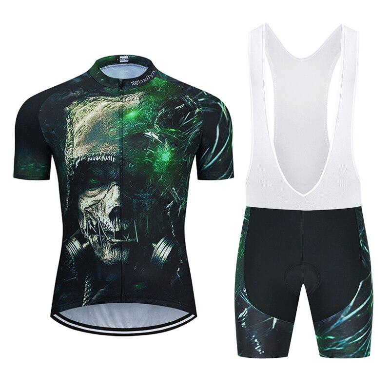 Moxilyn 2020, Ropa de Ciclismo negra para hombre, uniforme MTB, Ropa de...