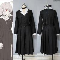 anime vtuber hololive kuzuha sexual turn uniform cosplay costume halloween party suit dailydress women custom made 2021 new