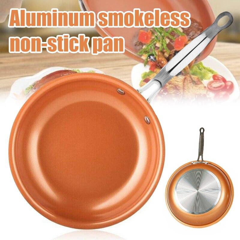 Frigideira de alumínio antiaderente duro-anodizado panelas omelete frigideira para cozinha ghs99