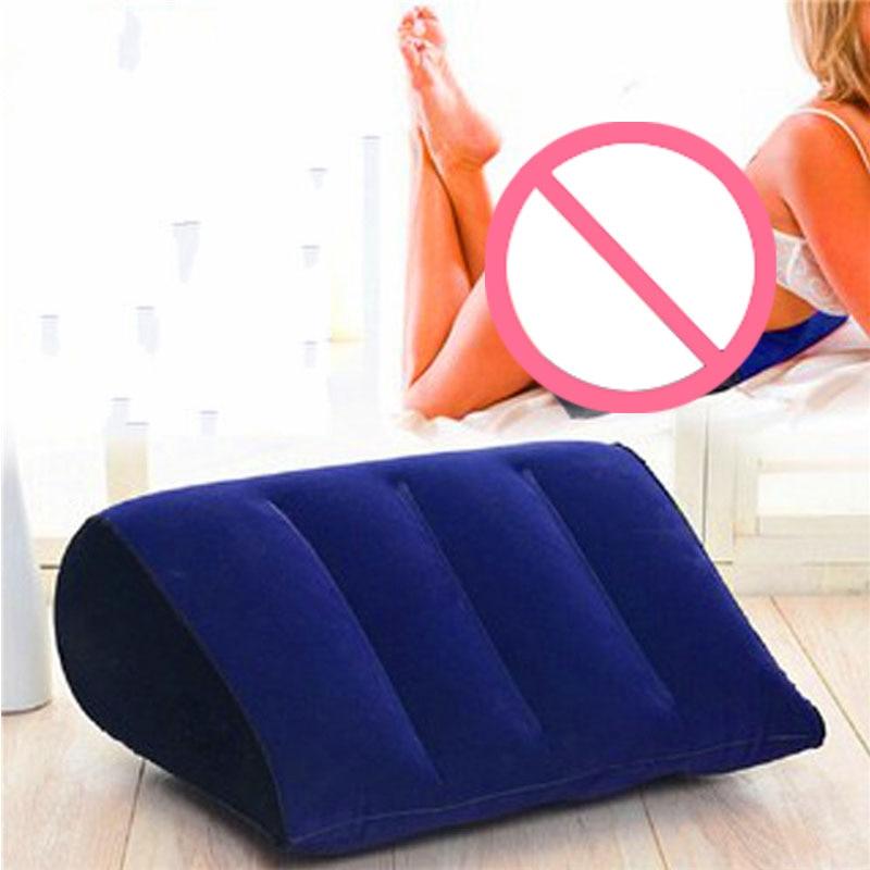 Надувная подушка для секса, подушка для взрослых, Сексуальная помощь, поддержка положения тела, мебель для поддержки пары, Воздушная волшеб...