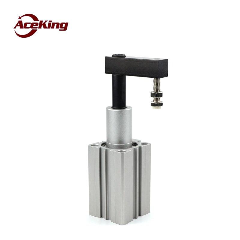 Cilindro de sujeción rotativo QCK16/20/25/32/40/50/63-10/20 /30/50 angular presión 90 grados QCK16x10 QCK16x20 QCK16x30 QCK20x10
