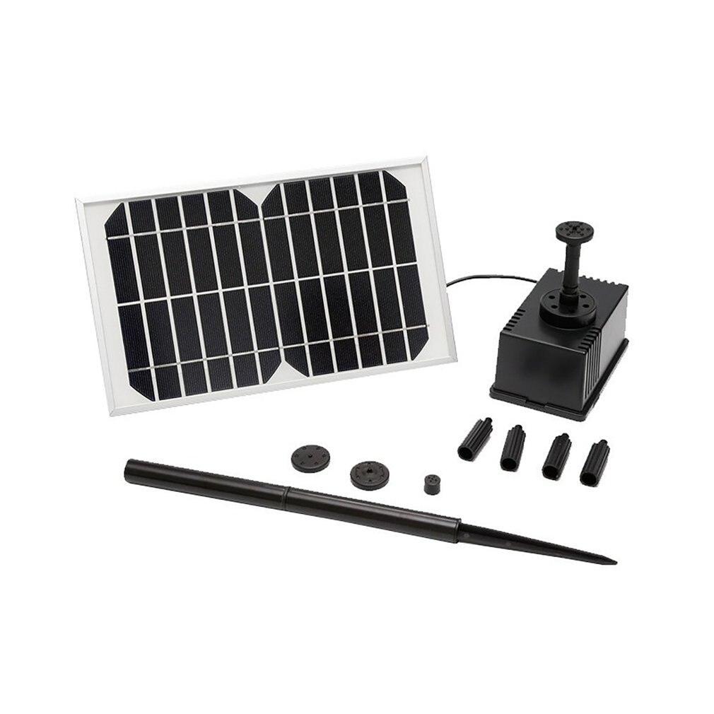 AS180-1250A 12 فولت 5 واط نافورة شمسية فرش المباشر الحالي مضخة مياه لوحة طاقة شمسية للطاقة بركة السباحة