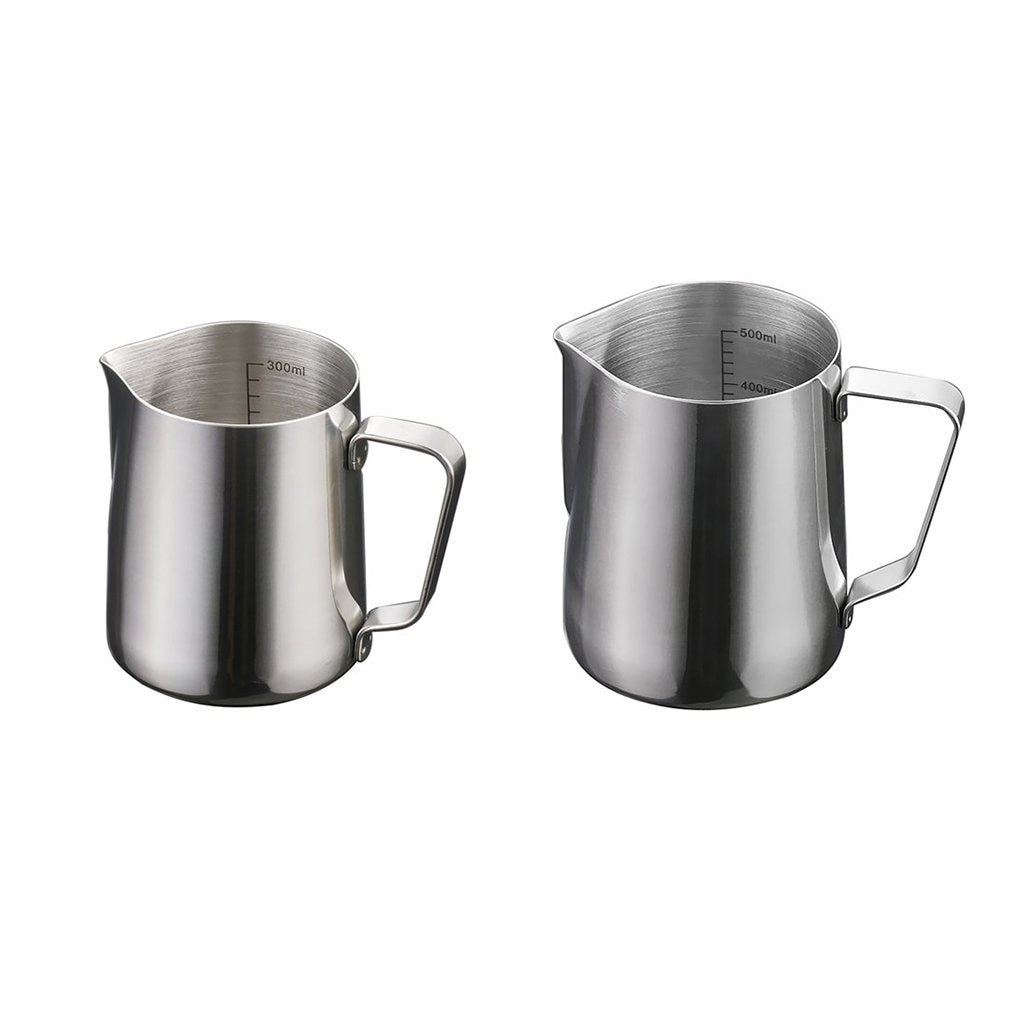 Stainless Steel Pull Cup Pull Flower Pot Pull Flower Pot Milk Foam Cup Cappuccino Fancy Coffee Set Milk Cup