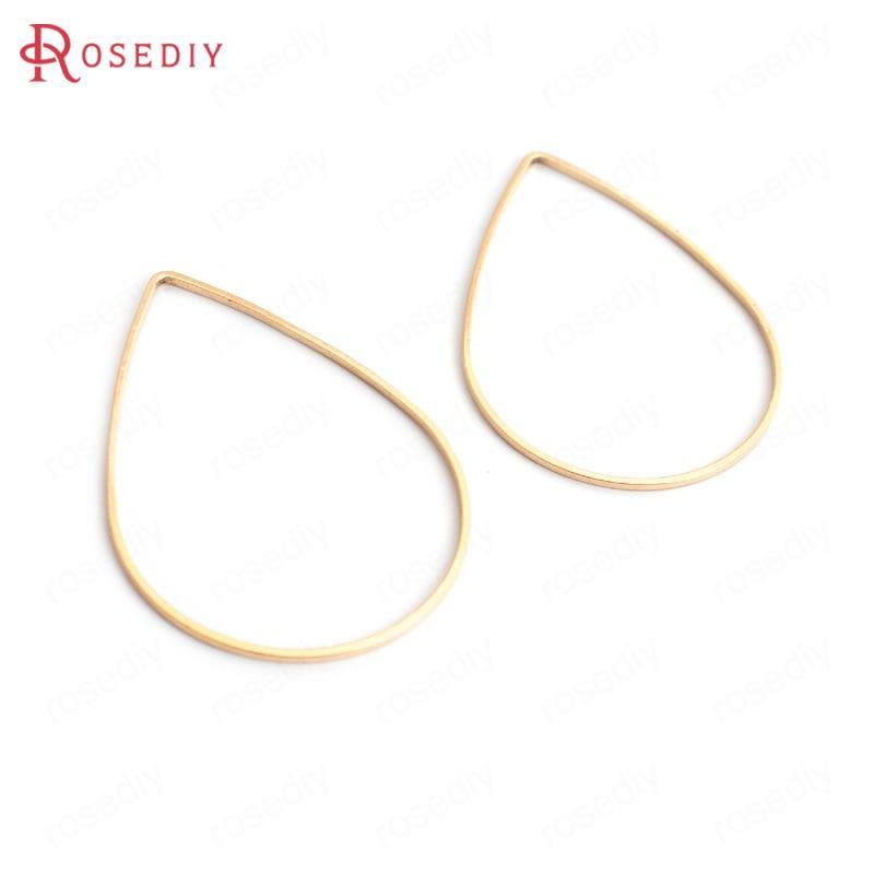 Großhandel 10*7mm 25*17mm 30*21mm 38*26mm 47*30mm Antike Bronze/Gold farbe geometrie drop Messing Geschlossen Ringe Zubehör (JM3128)