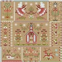 christmas girl 1 patterns counted cross stitch 11ct 14ct diy chinese cross stitch kit embroidery needlework sets home decor