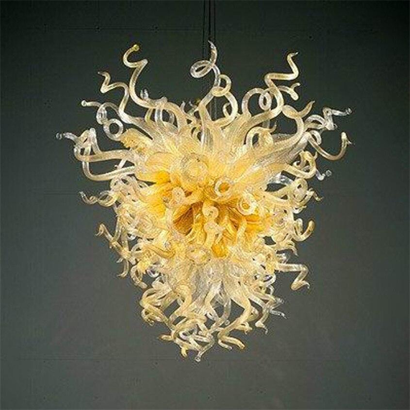 المعاصرة مصباح LED أضواء الإضاءة 100% الفم الزجاج المنفوخ مصابيح قلادة للثريا تركيبات للديكور المنزل