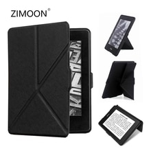 Kindle Paperwhite 2 3 katlanabilir PU deri akıllı kapak Amazon Paperwhite 1/2/3 standı tutucu 6 E-kitap kabuk