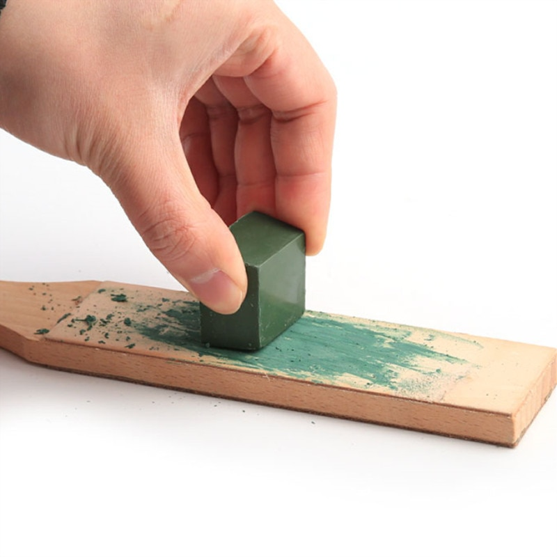 1 pz pasta lucidante verde allumina abrasiva fine pasta abrasiva - Abrasivi - Fotografia 5