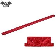 DANIU rouge 100-450mm en alliage daluminium onglet piste écrou M6/M8 T fente T piste écrou curseur barre de serrage T écrou accessoires pour scie à Table