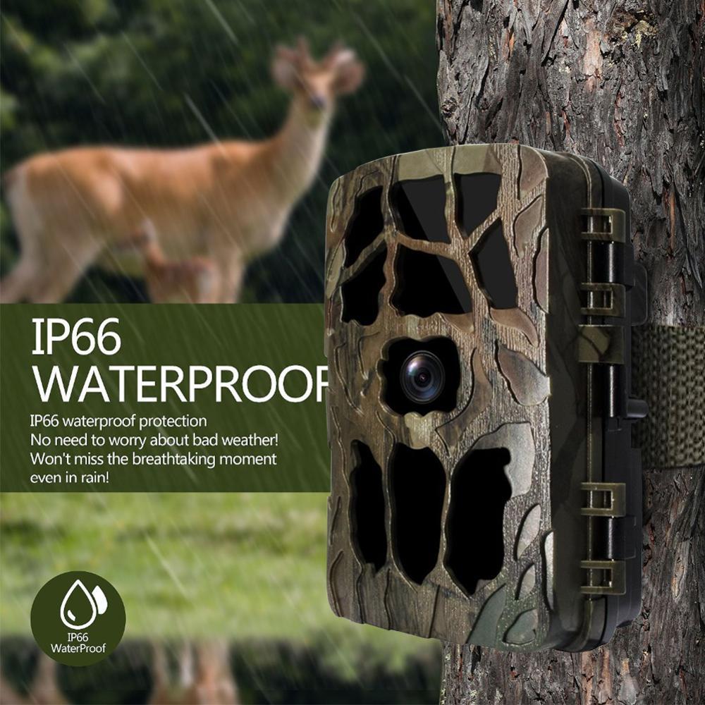 H982 12MP 1080P cámara de caza 0,6 S movimiento rápido disparador Digital infrarrojo Trail Cam visión nocturna salvaje foto de cámara juego de trampas