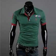 Мужская летняя рубашка поло для мотоцикла, футболки с коротким рукавом для bmw power, высококачественные спортивные трикотажные футболки с отл...
