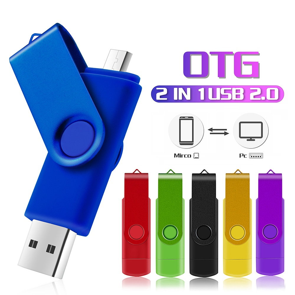 AliExpress - Mini Cle Usb Flash Drives 32GB 16GB Pen Drive 128GB Pendrive 64GB OTG 2 IN 1 Memoria Usb Stick 8GB 4GB Chiavetta Usb Custom Logo