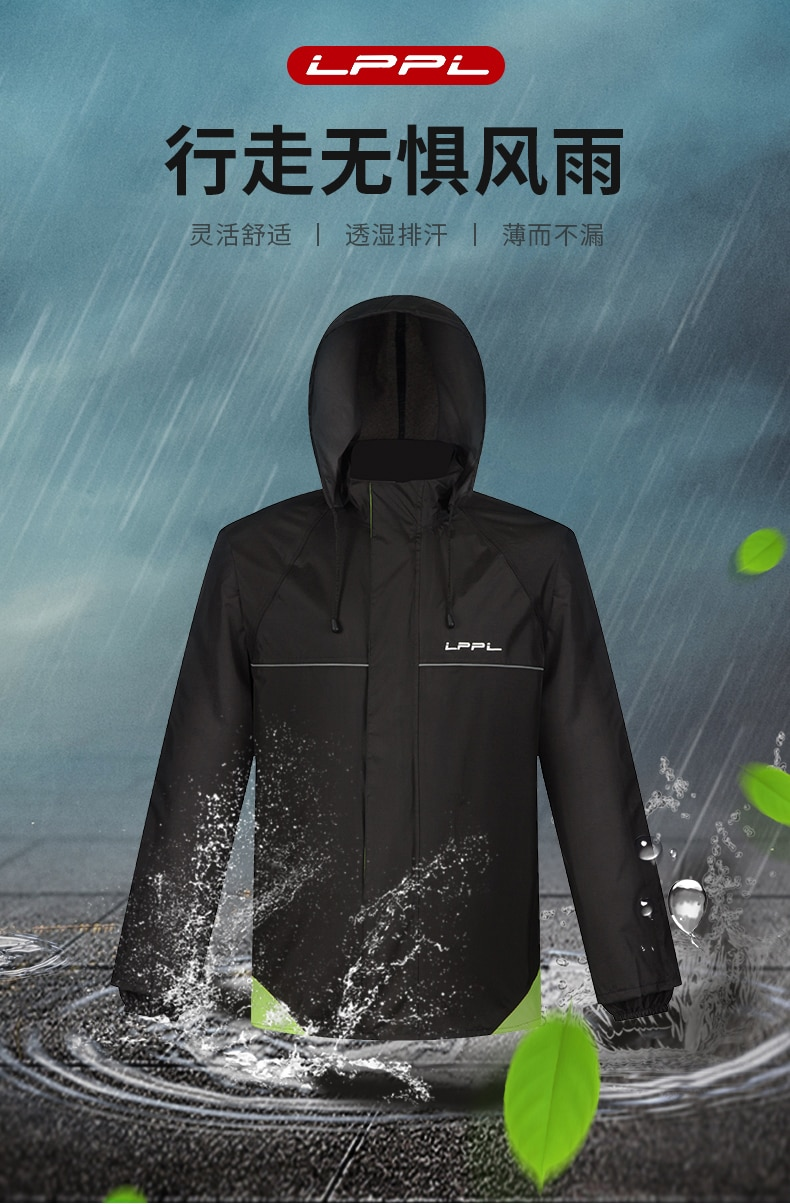 Pants Jacket Raincoat Suit Scooter Reflective Poncho Women Raincoat Waterproof Motorcycle Rainsuit Yagmurluk Rain Gear AD50RC enlarge