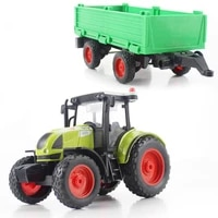 diecast toy vehicle farmer tractor simulation 116 pull back with lightsmusic transport truck model gift toys for children