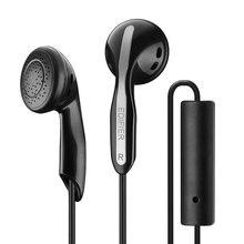 Écouteurs EDIFIER P180 avec contrôle de la musique facile et réception des appels via micremote en ligne fil sans enchevêtrement comprend des cache-oreilles en éponge