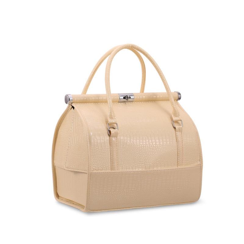 New Upgrade Large Capacity Cosmetic Bag  Professinal Women Travel Makeup Case
