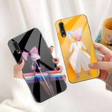 Sia Kate Isobelle Furler Telefon Fall Gehärtetes Glas Für Huawei P30 P20 P10 lite ehre 7A 8X 9 10 mate 20 Pro