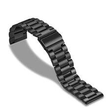24mm Mens Waterproof Stainless Steel Watch Strap Metal Watchbands For Bell Bracelet Ross Belt BR01 BR02 BR03