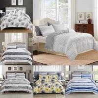 modern bedclothes quilt cover pillowcase 23 piece bedding set with pillow case single double white comforterduvet cover