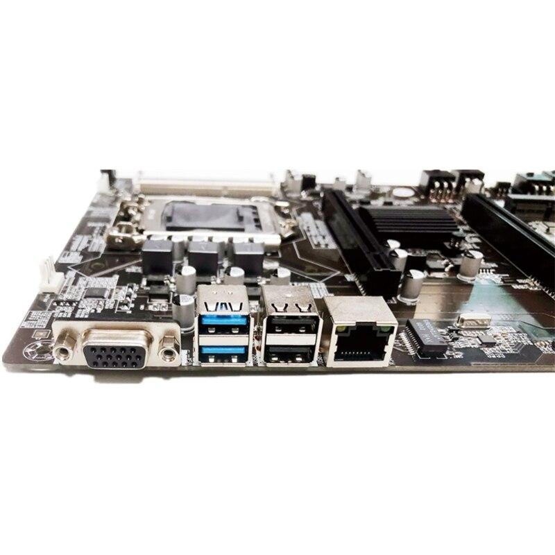 New Mining BTC B75-BTC 6PCI-E Desktop Motherboard B75 LGA 1155 DDR3 16G SATA3 USB3.0 BTC Bitcoin Mining Mainboard enlarge