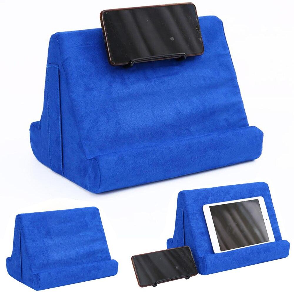 Cojín de espuma para ordenador portátil, Lapdesk, cojín de refrigeración multifunción, soporte para tableta, soporte para regazo, cojín para Ipad con bolsa