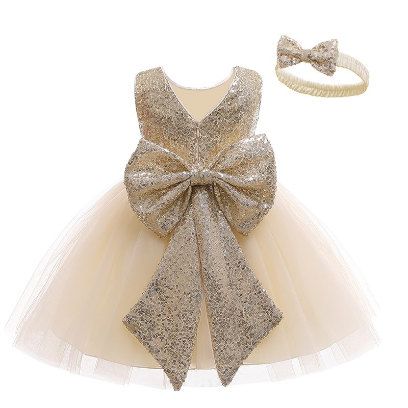 aliexpress.com - LZH Summer Infant Dress For Baby Girls 1st Year Birthday Dress Baby Sequin Wedding Party Princess Dress For Baby Newborn Clothes
