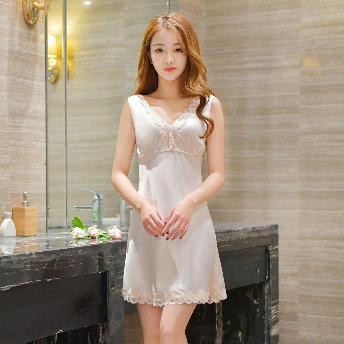 Фото - Женская Длинная Ночная сорочка, ночная сорочка, комбинация, одежда для сна сорочка женская iv30248