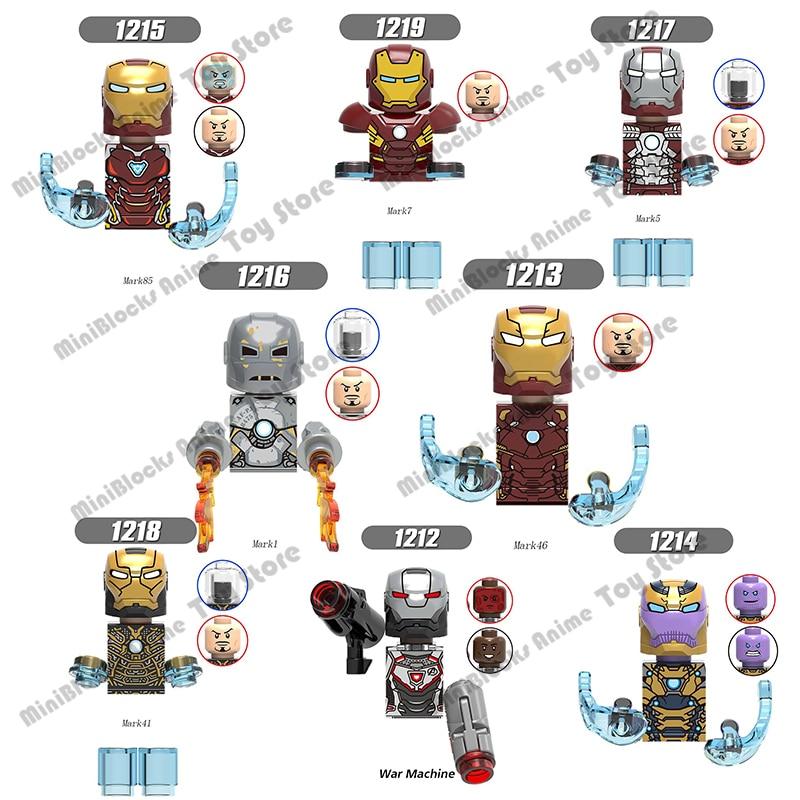 Одиночная распродажа, конструктор из серии «Железный человек» Disney, мини-кирпичи, экшн-фигурки из серии развивающие игрушки для детей, подар...