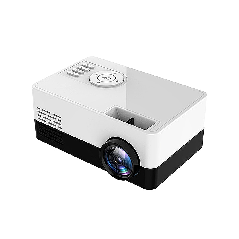 Miniproyector HD S261/J16, Proyector LED nativa de 320x240P, con Bluetooth, WiFi, vídeo...