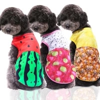 fake sling pet funny vest small dog springsummer clothes teddy bichon outing mesh breathable cool casual wear