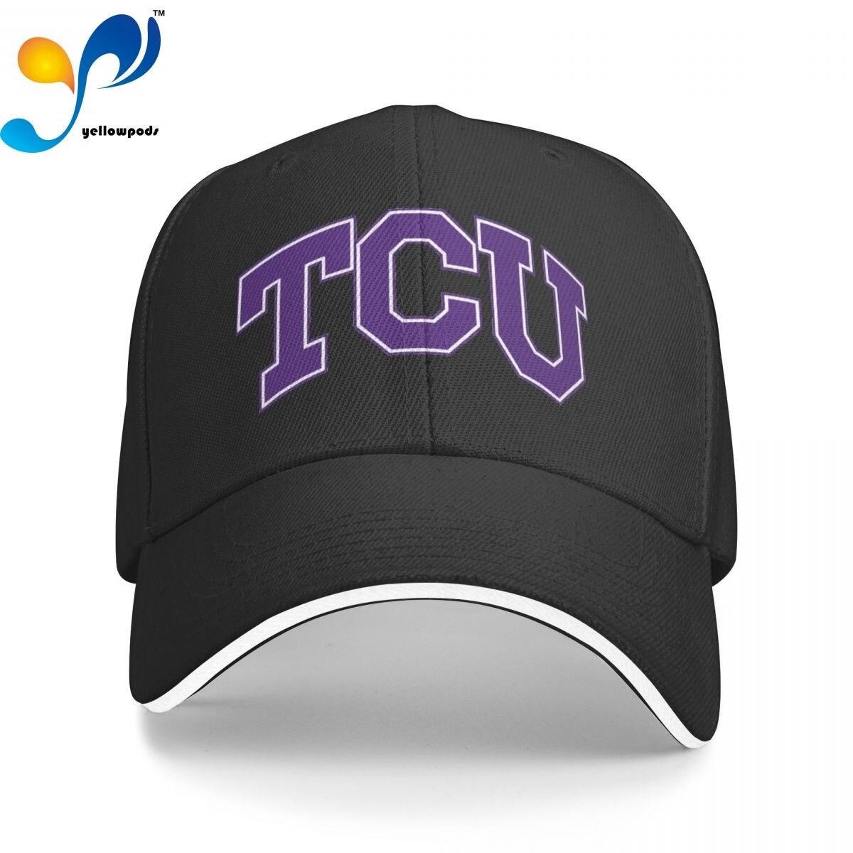 Мужская Новая бейсболка TCU, модная мужская и женская бейсболка для университета