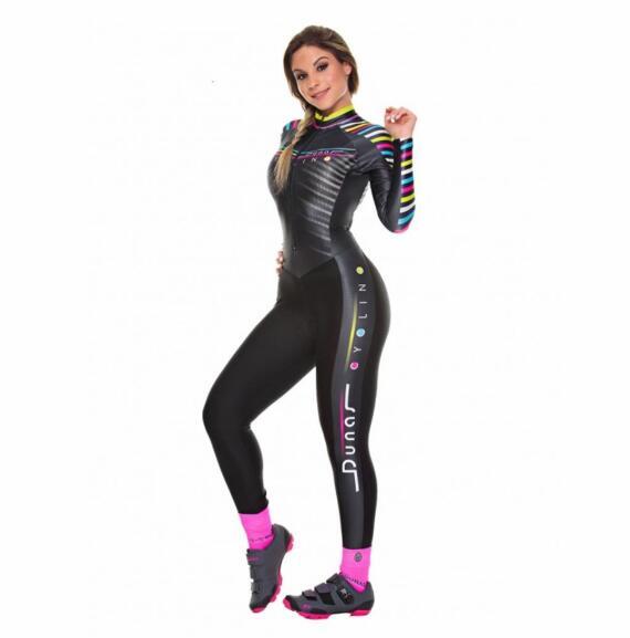 2020 Pro Team triatlón traje de ciclismo de manga larga Jersey Skinsuit Maillot ciclismo Ropa ciclismo set gel ..