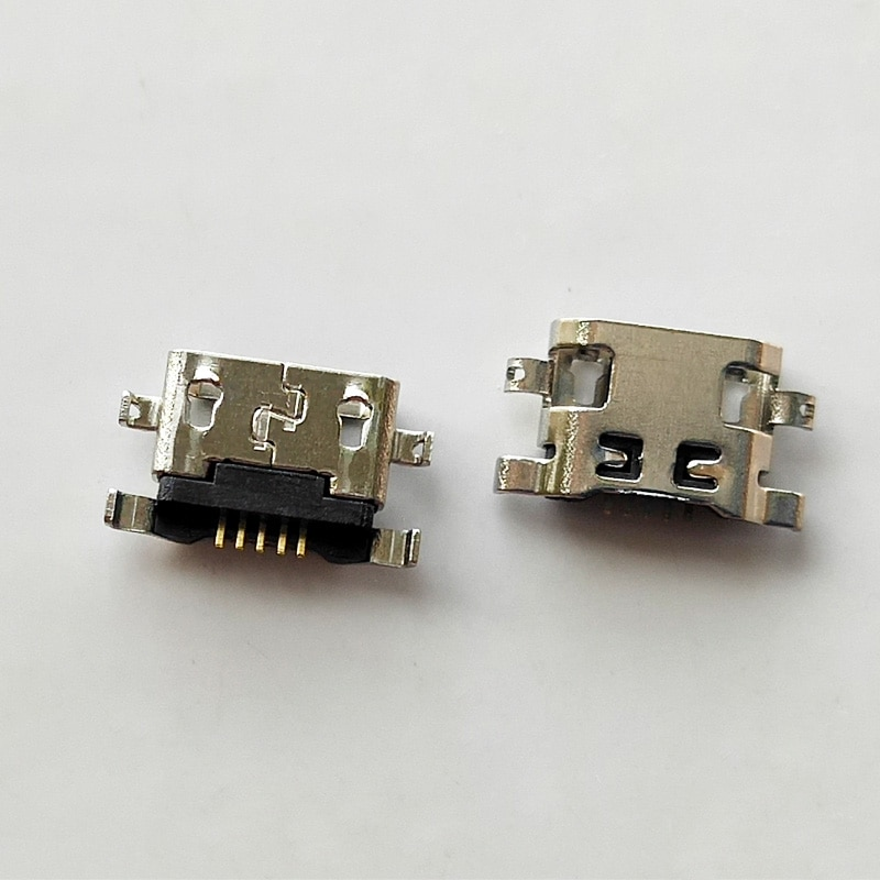 Mini conector de micro usb, conector de entrada de carregamento para asus zenfone go zb500kl zb500kg, com tomada de energia, com 10 peças