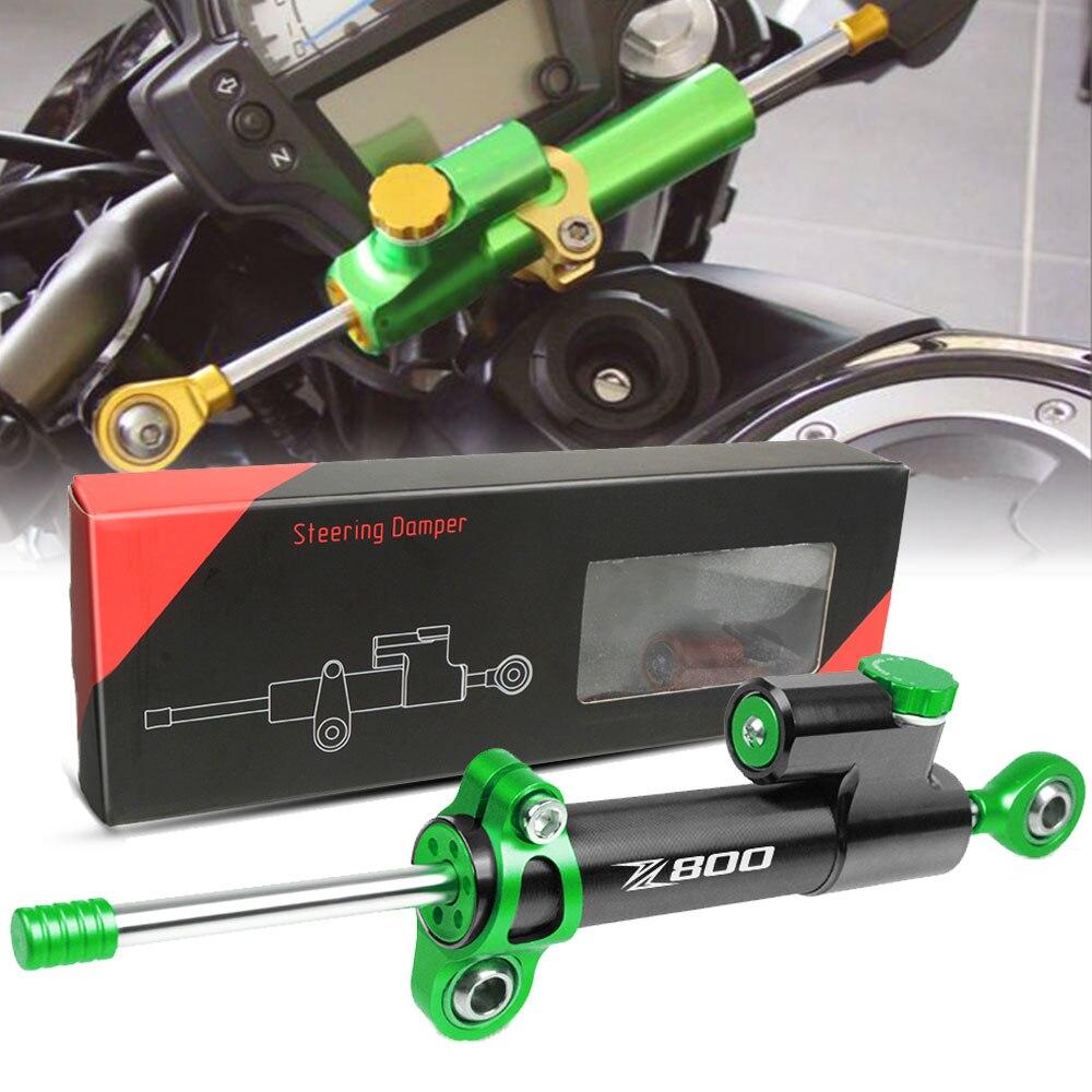 FOR KAWASAKI Z800 EveRsion 2013 2014 2015 2016 2017 CNC Adjustable Motorcycles Steering Stabilize Damper Bracket Mount Kit