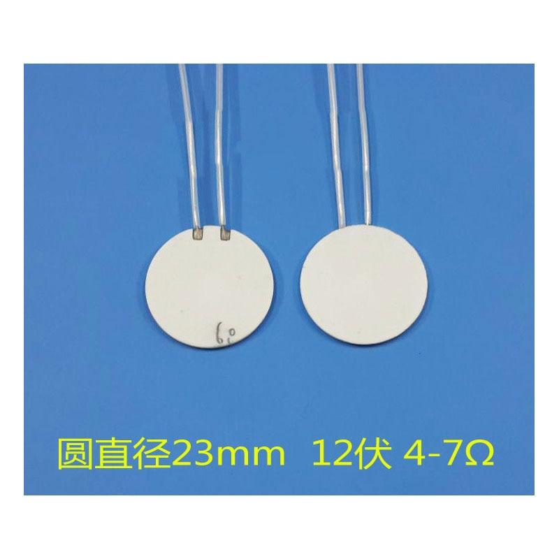 Placa de calentamiento de cerámica de alta temperatura 1 Uds. Placa calefactora placa calefactora redonda de 23mm