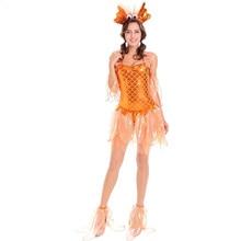 Erwachsene Sexy Meerjungfrau Kostüm Halloween Maskerade Partei Cosplay Ozean Kleine Goldfisch Phantasie Kleid