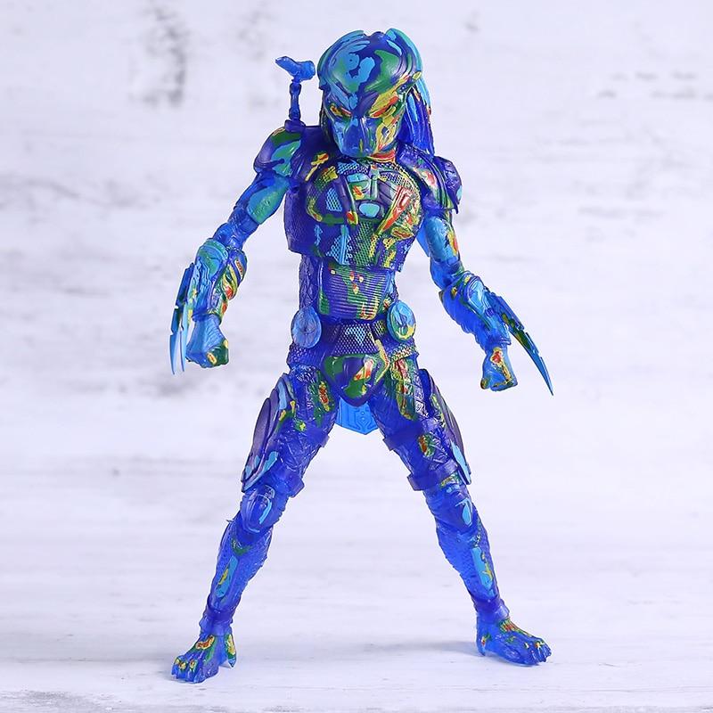 The Predator 2018 Thermal Vision Fugitive Predator Action Figure NECA Model Toy